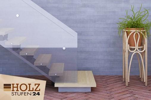 Holz-Treppenstufen