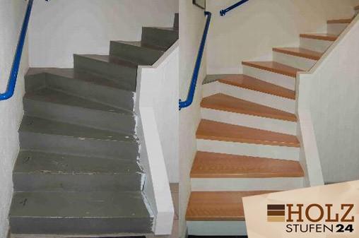 Holztreppe sanieren