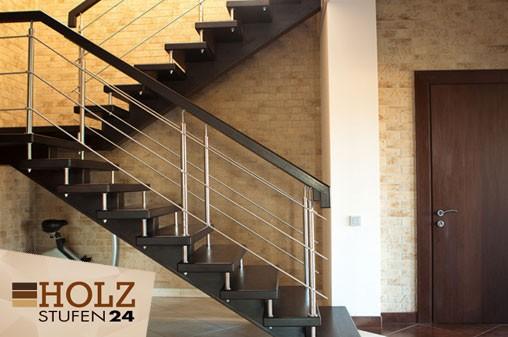 Treppenstufen für gewendelte Treppenläufe