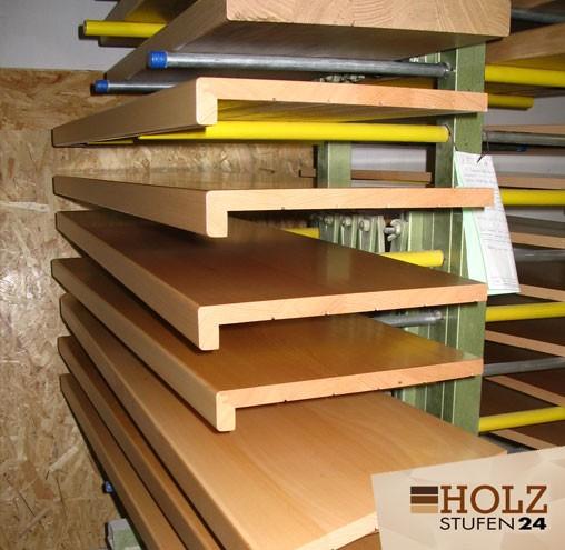 Bei Holzstufen24 Findet Jeder Den Passenden Treppenstufenbelag