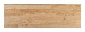 Massivholz-Treppenstufe, Wildeiche stabverleimt naturbunt, astig, gerade, Dicke ca. 40mm