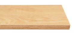 Massivholz-Treppenstufe, Multiplex Buche, ca. 50mm, gerade/gewendelt