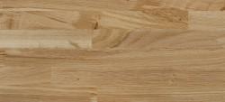 Massivholz-Podest, Wildeiche stabverleimt naturbunt und kleinastig, ca. 40mm