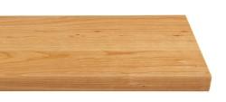 Massivholz-Treppenstufe, amerikanische Kirsche blockverleimt A/B, gerade, ca. 30mm