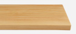 Massivholz-Treppenstufe, Lärche blockverleimt A/B, gerade, ca. 30mm