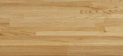 Massivholz-Podest, Weisseiche Parkett riemchenverleimt, ca. 40mm